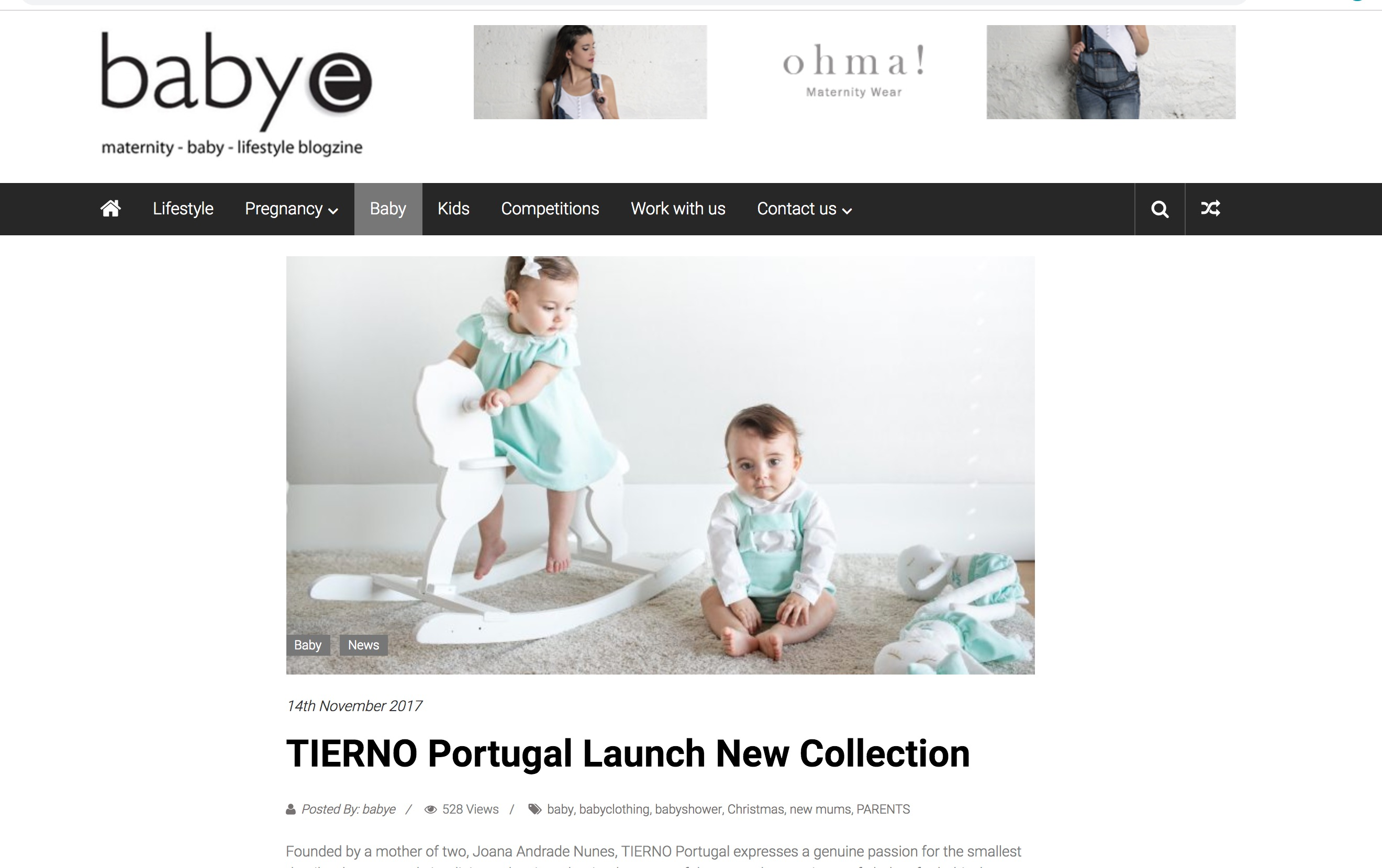 TIERNO LIMITED EDITION IN BABYE