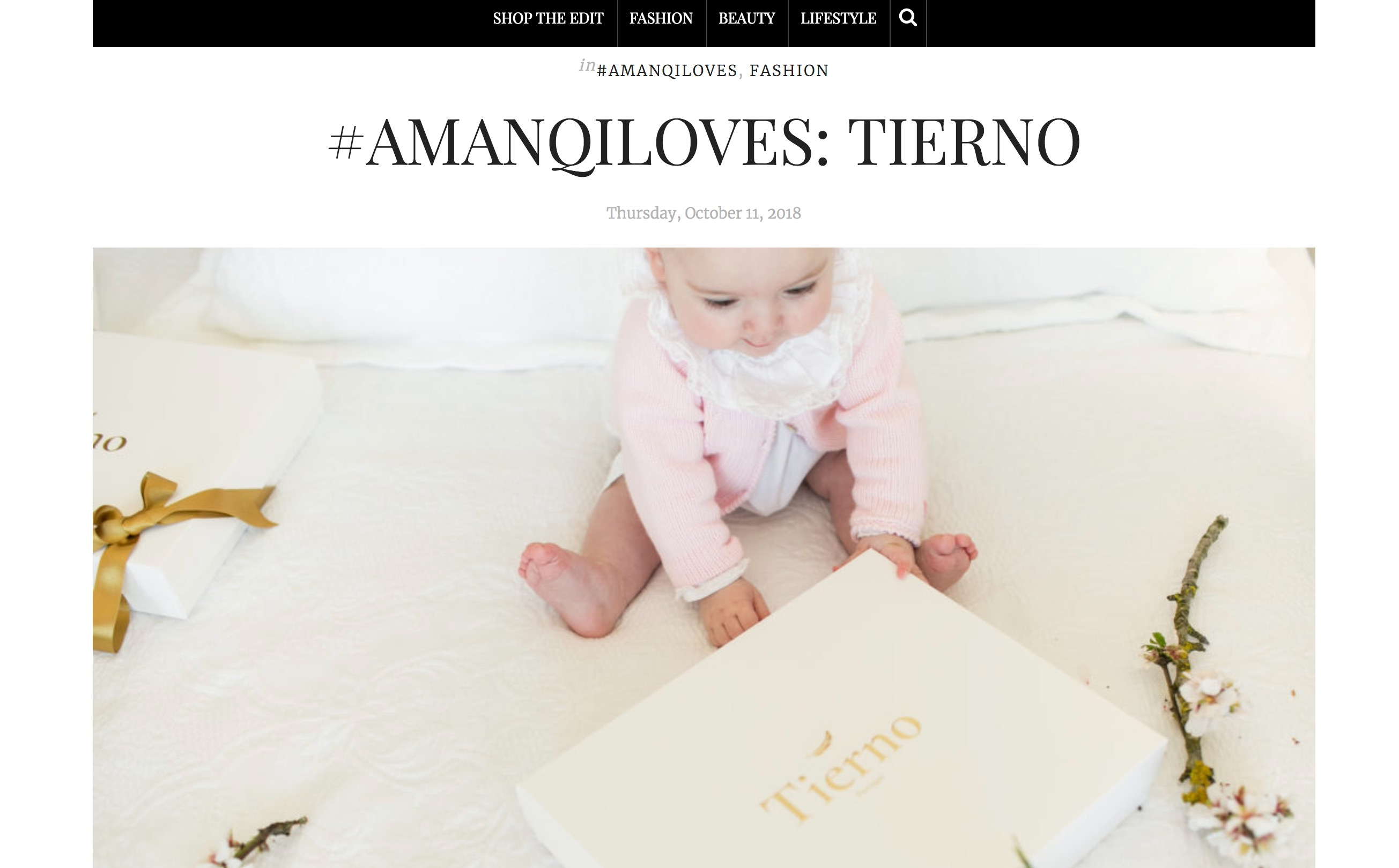 AMANQI LOVES TIERNO